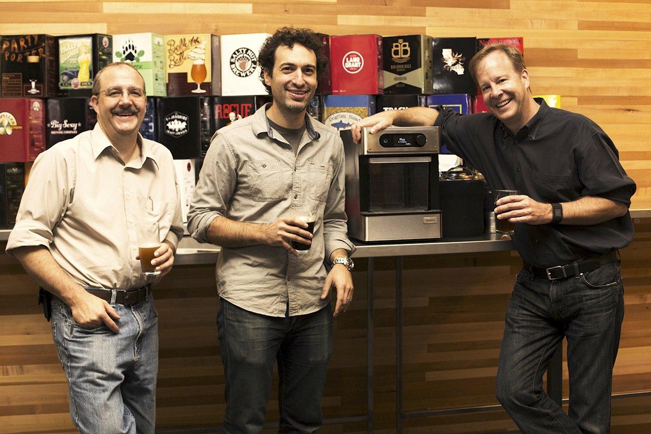Gegründet wurde PicoBrew im Jahr 2010 von den Microsoft-Managern Bill Mitchell und Avi Geiger sowie dem Physiker und Techniker Jim Mitchell.