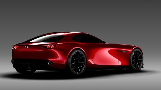 Mazda präsentiert den Sportwagen RX-Vision mit Wankelmotor auf der Tokio Motor Show. Das Auto soll an Mazdas erstes Auto mit Wankelmotor erinnern, denCosmo Sport aus dem Jahr 1967.