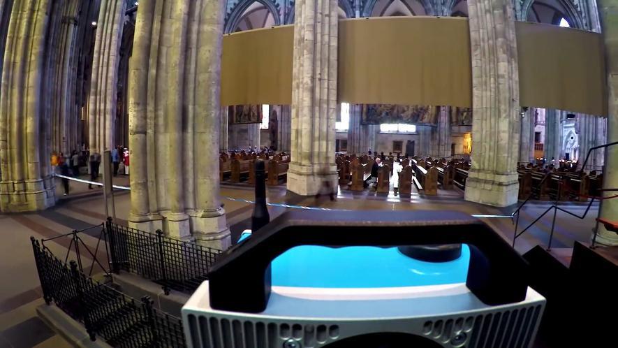 Kölner Dom wird komplett als 3D-Modell eingescannt