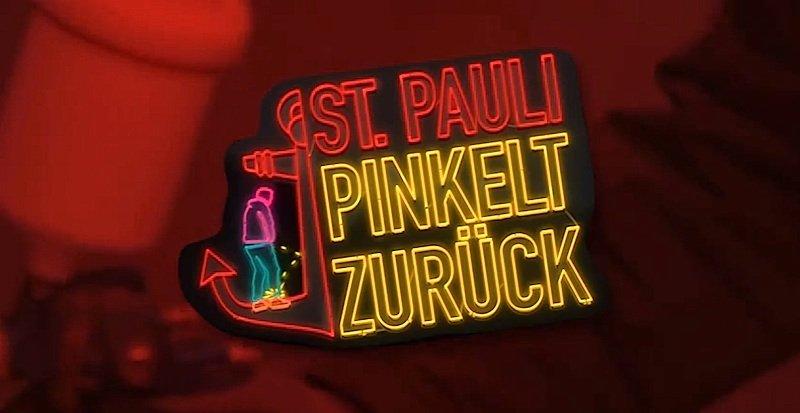 St. Pauli pinkelt zurück: Dafür hat die Interessengemeinschaft St. Pauli Wände mit einem wasserabweisenden Speziallack bestrichen, an dem der Urinstrahl abprallt – und für eine nasse Hose sorgt.
