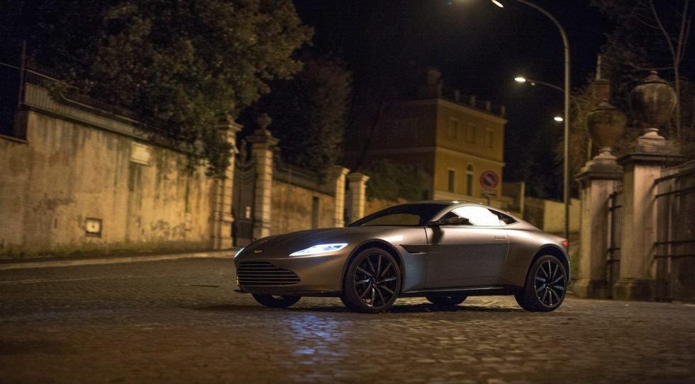 Dienstwagen von James Bond im neuen Film Spectre: Ein DB10 des britischen Sportwagenherstellers Aston Martin mit 420 PS unter der Motorhaube.