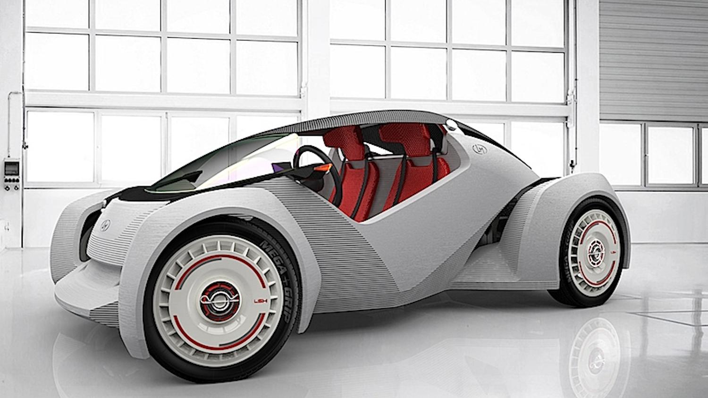 Local Motors hat auch Strati mit dem 3D-Drucker hergestellt. Der Buggy hat allerdings noch nicht die Serienreife erreicht.