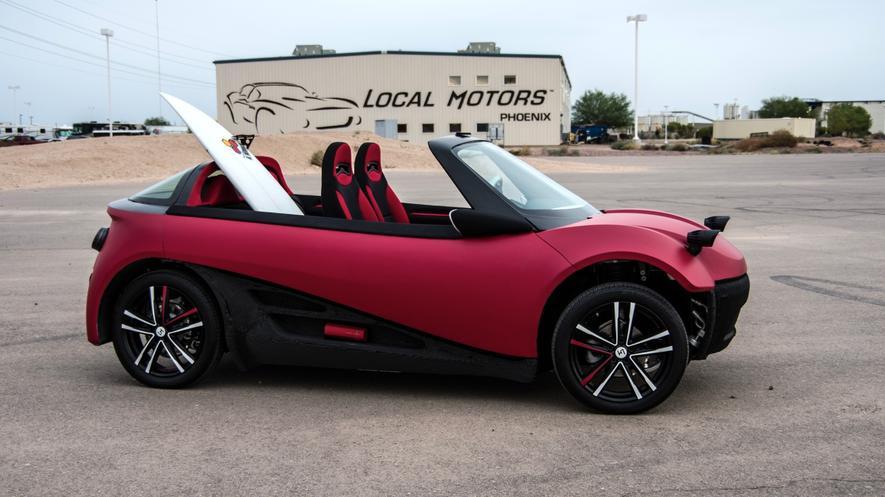 Local Motors baut erstes Serienauto aus 3D-Drucker