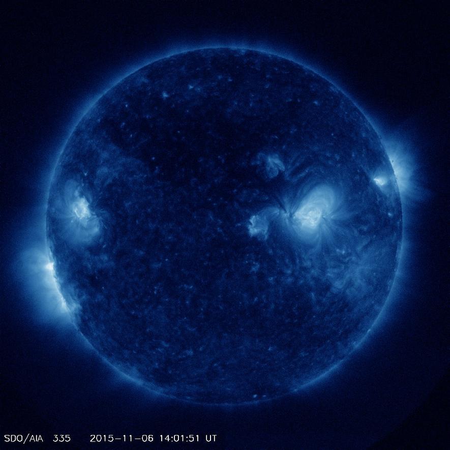 So schön ist die Sonne: Nasa zeigt erstmals Bilder in vierfachem HD