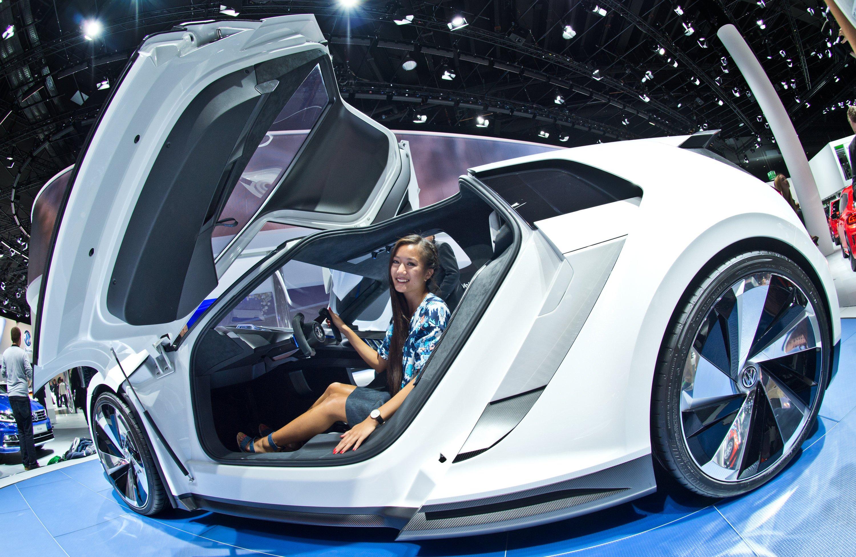 Golf GTE Sport Concept Car: Das Interesse an Elektromobilät ist im privaten Bereich immer noch mau. Trotz der Neuheiten, die wie hier auf der IAA vorgestellt werden.