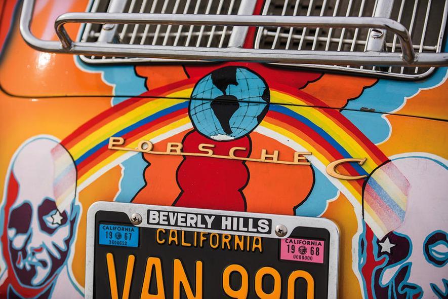 Janis Joplins Hippie-Porsche wird bei Sothebys versteigert