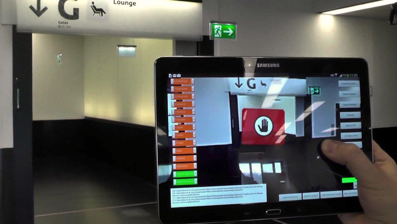 Indoor-Navi der TU Wien: Das System braucht kein GPS, Wlan oder Bluetooth. Kameras von Smartphones und Tablets reichen aus.