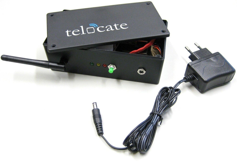 Empfänger des Start-ups Telocate: Er veranlasst Smartphones dazu, unhörbare akustische Signale auszusenden.