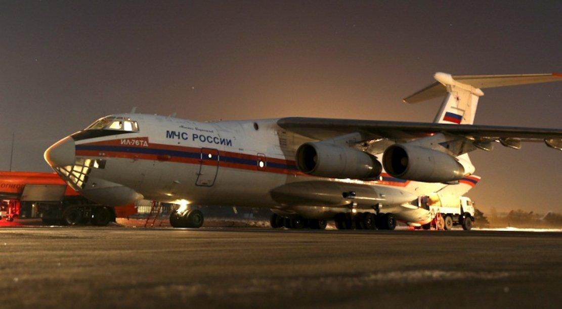 Mehr als 100 Tonnen Gepäck der bei dem Flugzeugabsturz auf der Sinai-Halbinsel getöteten russischen Passagiere wurde von einer Militärmaschine IL-76 nach Russland geflogen.
