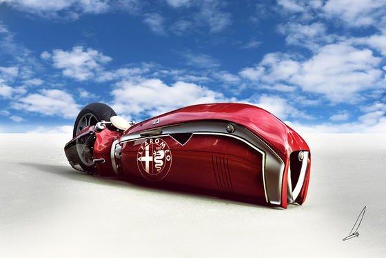 Aufsteigen und Gas geben: Es steht in den Sternen, ob es die Alfa Romeo Spirito jemals geben wird.
