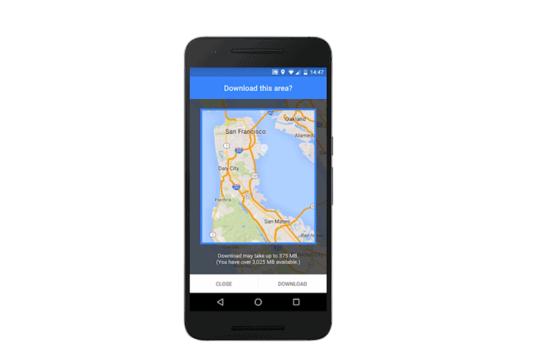 so nutzen sie die navigation von google maps auch offline. Black Bedroom Furniture Sets. Home Design Ideas