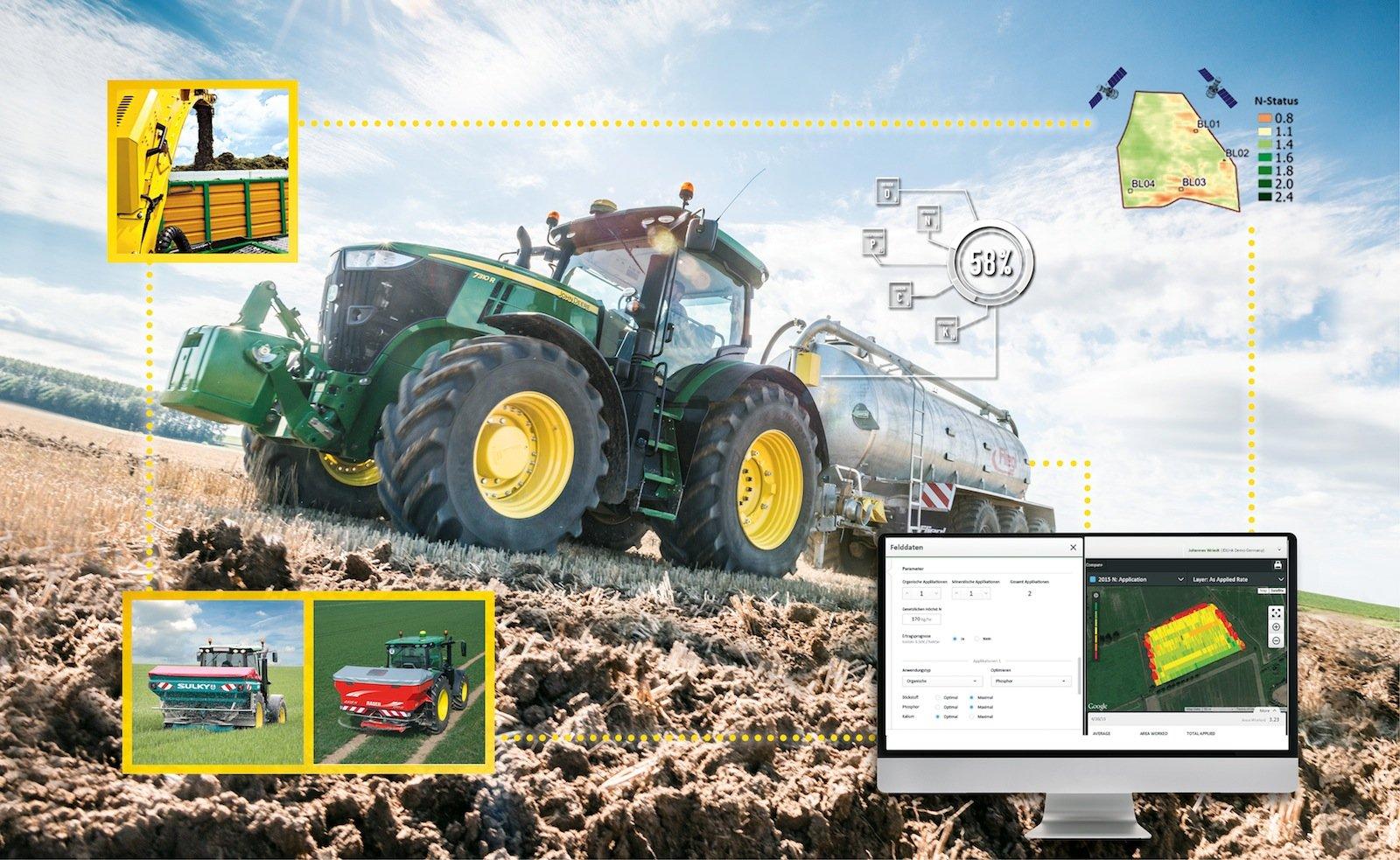 Mit dem iTec AutoLearn von John Deere lernt der Traktor immer dazu, merkt sich wiederholte Manöver und schlägt vor, diese zu automatisieren.