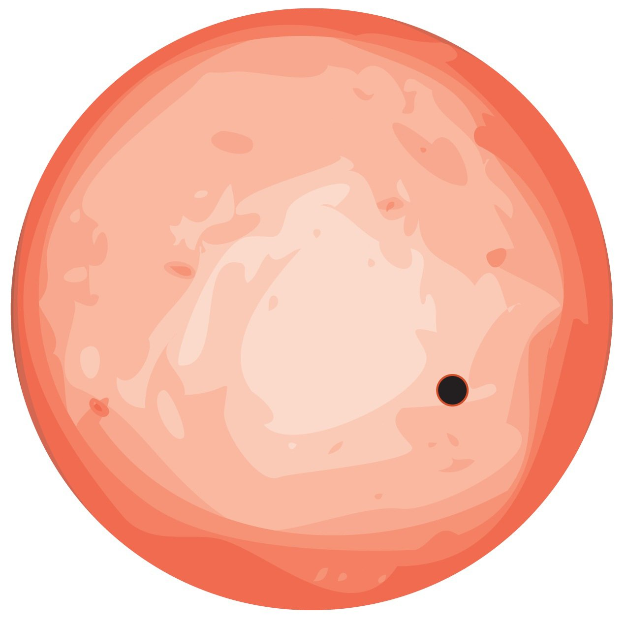 Die Illustration zeigt den Exoplanet mit der Katalognummer GJ 1132b, der um den roten Heimatstern kreist. Astronomen haben den bislang nächsten erdähnlichen Planeten außerhalb unseres eigenen Sonnensystems aufgespürt. Der sogenannte Exoplanet GJ 1132b liege in unserer direkten kosmischen Nachbarschaft und sei etwa so groß und massereich wie die Erde.