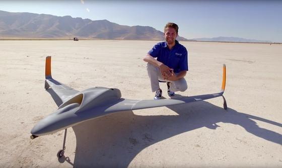 Jet-Drohne aus dem 3D-Drucker: Das Unmanned Air Vehicle (UAV) hat eine Spannweite von 2,75 m und wiegt lediglich 13 kg.