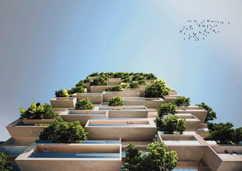 Der Bau des 114 m hohen Hochhauses soll gegen Ende 2016 beginnen. Kostenpunkt: knapp 185 Millionen €.