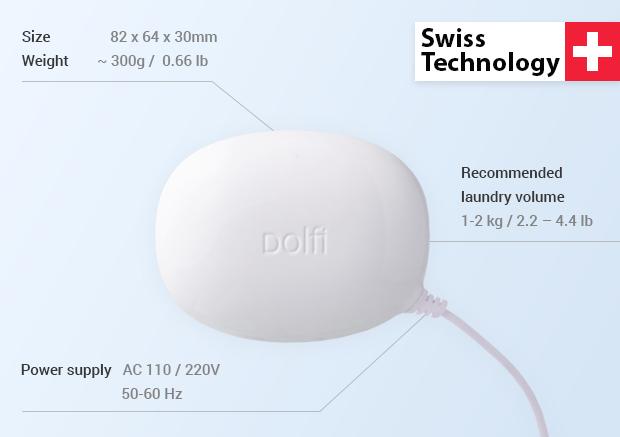 Dolfi wurde von dem Schweizer Unternehmen MPI Ultrasonics entwickelt.