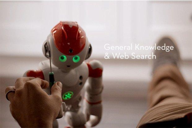 Der smarte Roboter Alpha 2 hilft beim Kochen oder Reparaturarbeiten im Haus mit Ratschlägen.