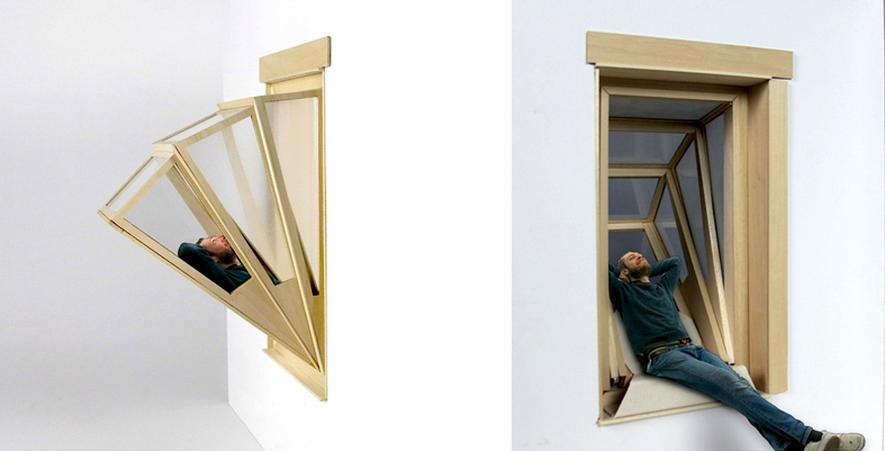 Balkon-Feeling ohne Balkon: Fenster zum Ausklappen
