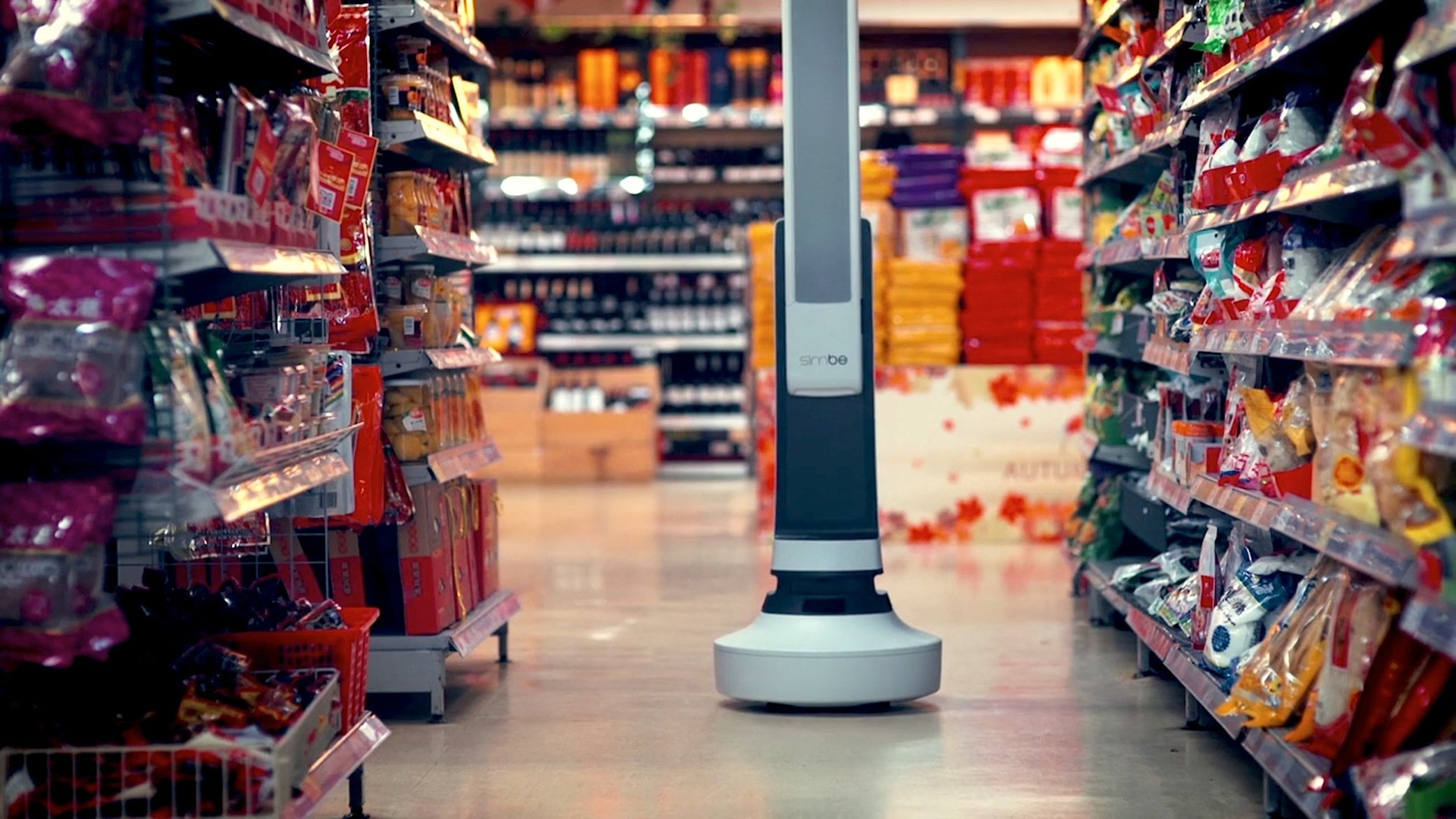 Bis zu 15.000 Artikel kann der Roboter Tally pro Stunde scannen. Die Daten werden an das Data-Warehouse-System des Supermarktes übermittelt. Die Mitarbeiter erhalten sofort Nachricht, welche Produkte nachgefüllt werden müssen.