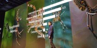 Künstliche Spinnenseide für Hightech-Jacke von North Face