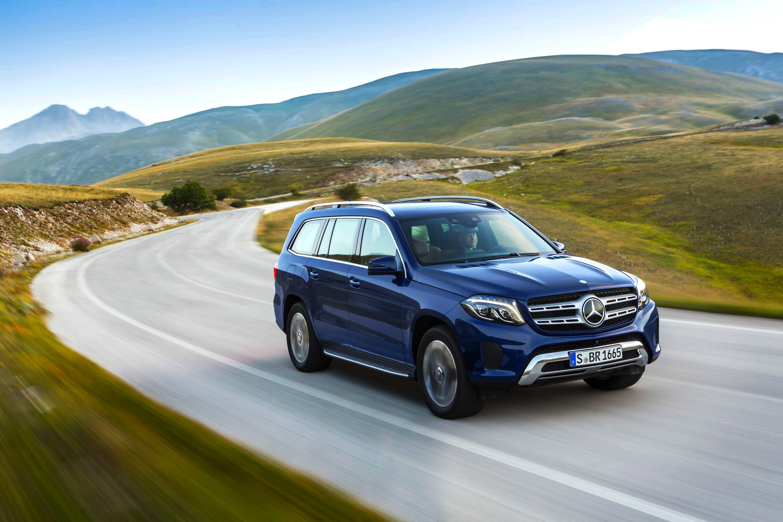 Luxus fürs Gelände: Mercedes präsentiert in Los Angeles den GLS, eine S-Klasse für die Tour durchs Gelände mit Allrad-Antrieb.