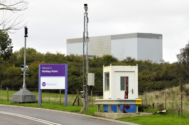 Atomanlage Hinkley Point in Somerset in Großbritannien: Die EU hat ihr Okay dazu gegeben, dass die britische Regierung den Bau zwei weiterer Reaktoren mit 21,6 Milliarden Euro subventionieren darf. Das seien keine verbotenen Staatshilfen.