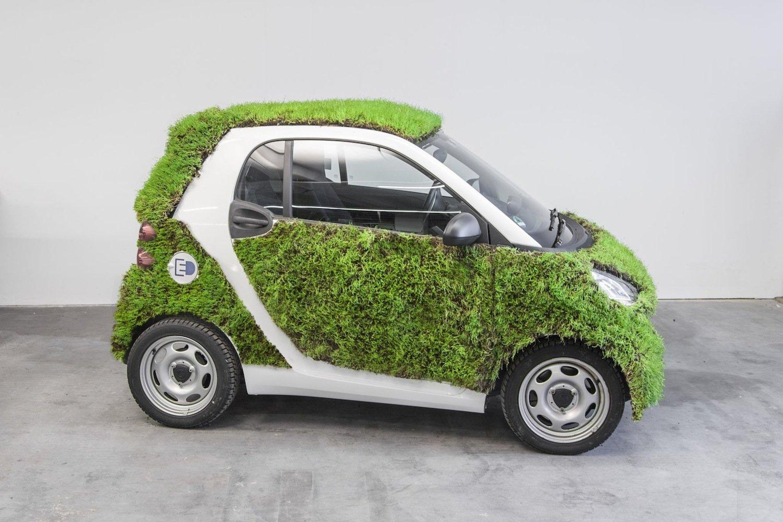 Der bepflanzte Smart Fortwo fährt bis Mitte Dezember durch den Großraum Stuttgart. Wie wird die Öffentlichkeit reagieren?