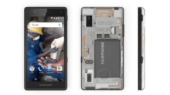 Fairphone 2: transparent, fair und einfach zu reparieren.