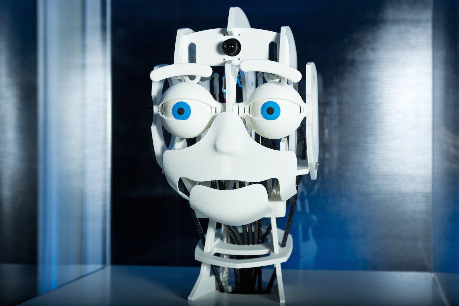 Roboter Felix kann Emotionen erkennen.