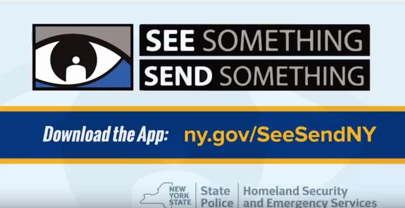 """Die App """"See something, send something"""" soll das Melden verdächtiger Vorfälle leicht machen. Vielleicht zu leicht?"""