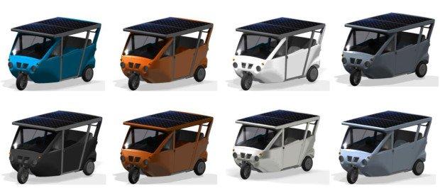 Das Sunnyclist ist in verschiedenen Farben erhältlich.