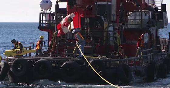 Hydrostor hat eine Pilotanlage im Lake Ontario in Betrieb genommen. Dort wird sich zeigen, wie effektiv die Energiespeicherung mit Unterwasser-Ballons funktioniert.