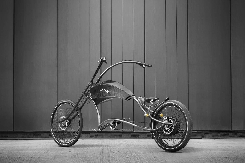 Das E-Bike Archont präsentiert Ono Bikes auf seiner Homepage in Schwarz-Weiß. Ein Hingucker ist es auch ohne Farbe...