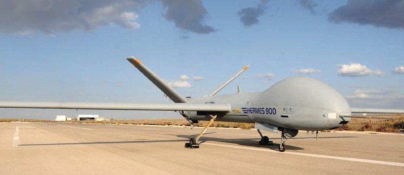Sechs solcher Drohnen des Typs Hermes 900 für mehr als 180 Millionen Euro hat die Schweiz in Israel bestellt.