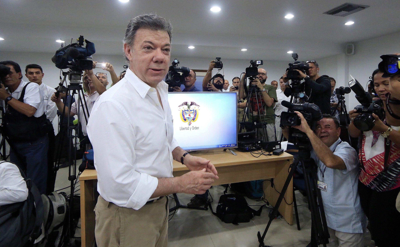 Kolumbiens Präsident Juan Manuel Santos hat persönlich den spektakulären Fund der 1708 versunkenen Galeone San José mitgeteilt. Das Schiff hat den größten Schatz der Welt an Bord.