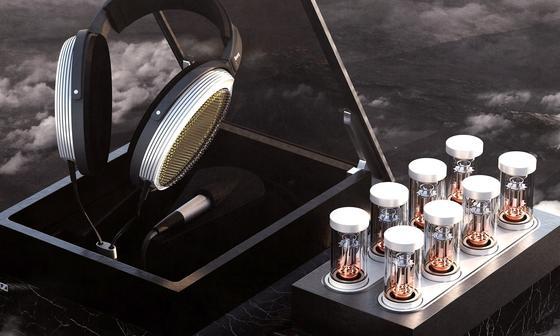 Das ist der teuerste Kopfhörer der Welt: Der Sennheiser Orpheus kostet inklusive Röhrenverstärker 50.000 € und kommt nächstes Jahr auf den Markt.