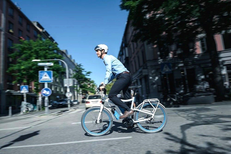 H2-Bike von Linde: Das E-Bike verfügt über eine Brennstoffzelle. Es ist aber noch nicht auf dem Markt.