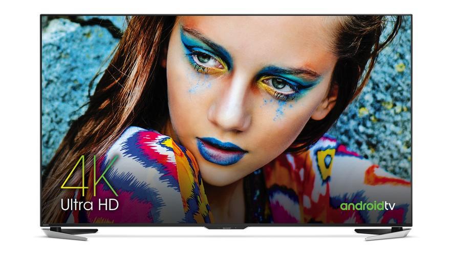Der Fernseher LV-85001 von Sharp –ein 8K-Gerät mit 7680x4320 Pixeln.
