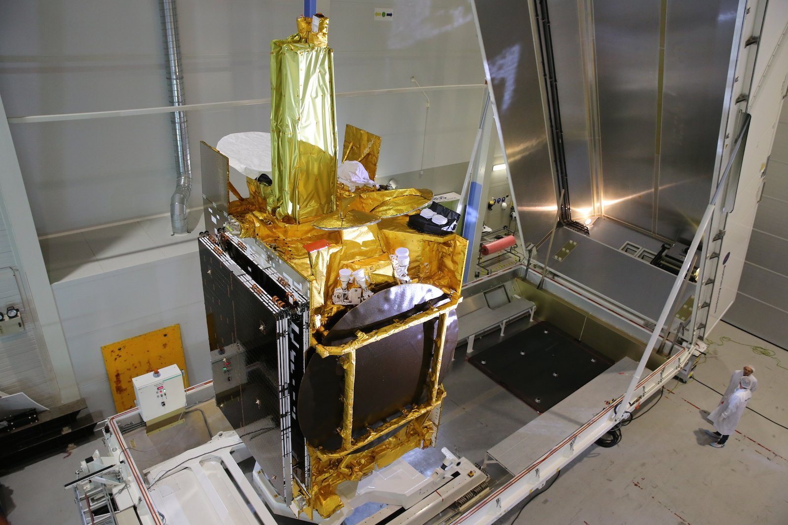 Im Januar startet die erste Nutzlastdes europäischen Datenrelaissatellitensystems EDRS-A.