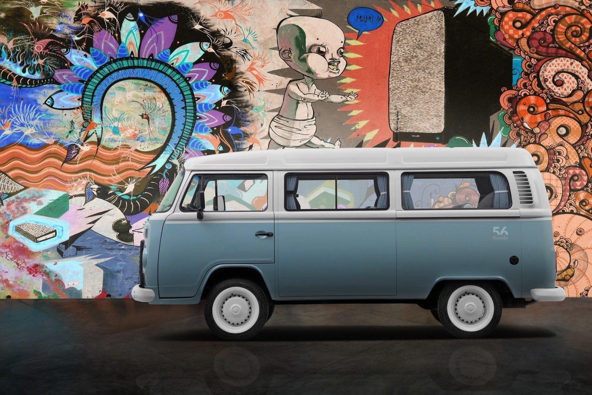 Nach 56 Jahren hat das VW-Werk Sao Paulo Ende 2013 die Produktion des Bulli eingestellt. Zum Abschluss gab es eine Last Edition in Blau.