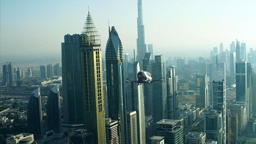 Wie eine Hubschrauber-Drohne zum bequemen Lufttaxi wird