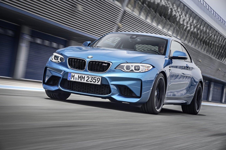BMW präsentiert mit dem M2 Coupé den Nachfolger des M1.