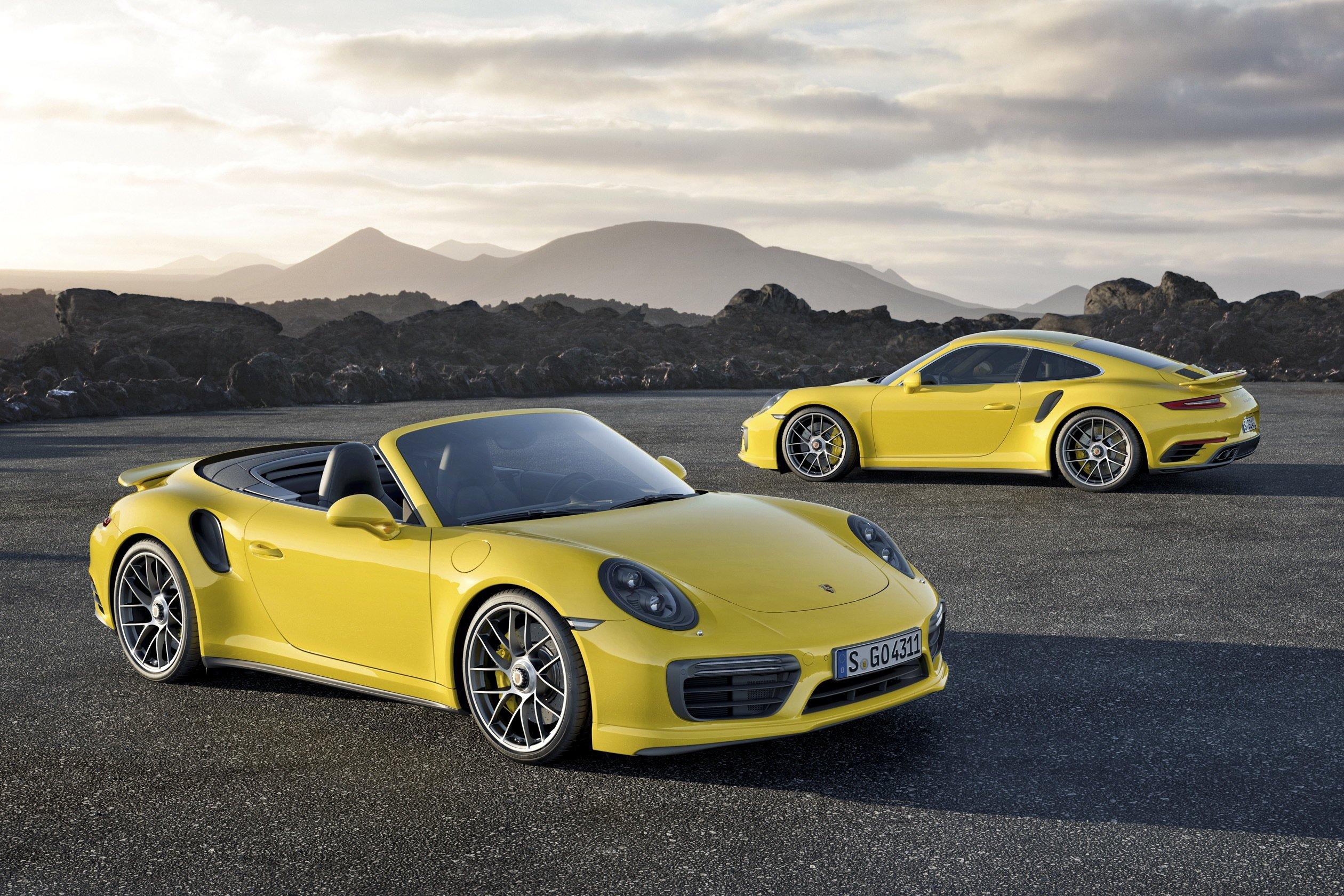Porsche 911 S Turbo und Cabrio: Mit dem überarbeiteten 911 S will Porsche die Amerikaner auf der Detroit Motor Show begeistern.