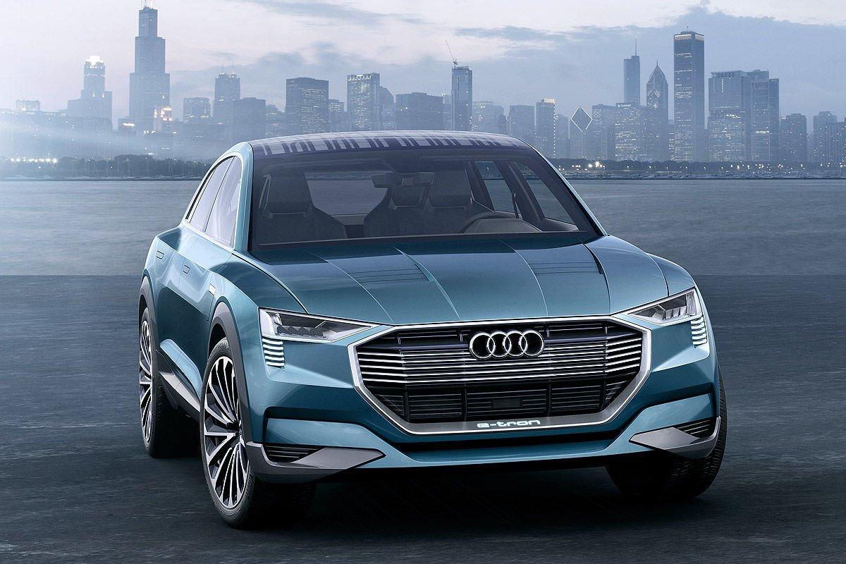 Audi zeigt in Detroit den Q6 h-tron quattro concept. Eine Brennstoffzelle liefert die Energie für den Elektroantrieb.
