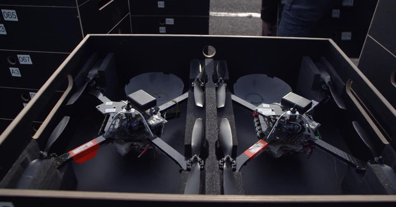 Diese Quadrocopter ließ Intel am Himmel tanzen. Sind sie zukünftig eine Alternative zu klassischem Feuerwerk?