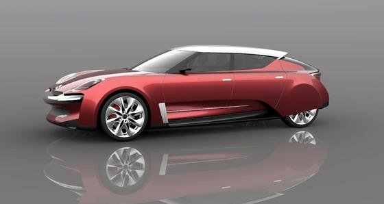 Was für eine schöne Neuauflage: Dieses Konzept für eine neue DS vonCitroën stammt vom französischen DesignerJean-Louis Bui.