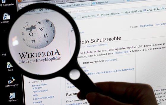 Logo des Online-Lexikons Wikipedia: Vor 15 Jahren wurde die Enzyklopädie gegründet.Die deutsche Ausgabe umfasst derzeit rund 1,9 Millionen Artikel und hat eine Milliarde Aufrufe im Monat.