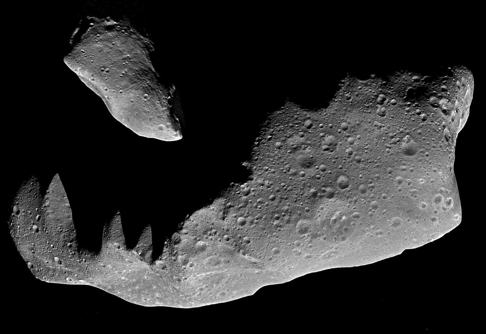 Gefahr aus dem All: Der Einschlag von Asteroiden auf der Erde könnte verheerende Folgen haben.Die Nasa hat jetzt eine Abteilung für planetare Verteidigung eingerichtet.
