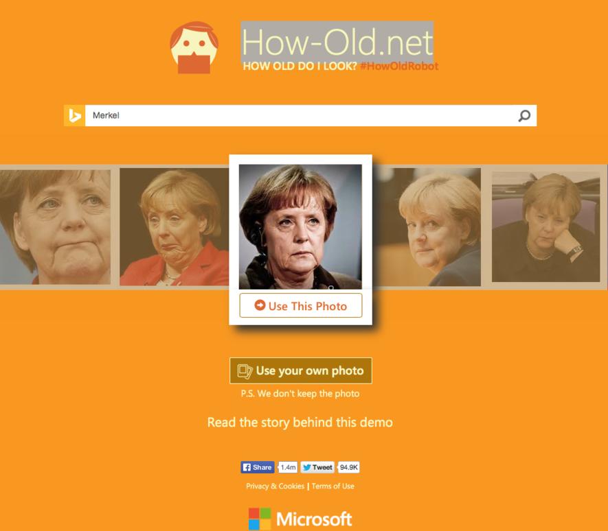Die Seite How.old.net wird ebenfalls mehr zum Spaß, als für ernste Zwecke genutzt.