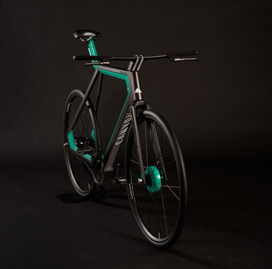 E-Bike Urban Rush nutzt auch Bremsenergie